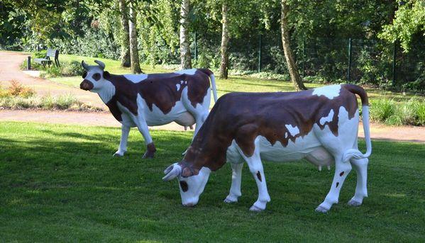 D coration jardin vache - Animaux decoration jardin resine ...