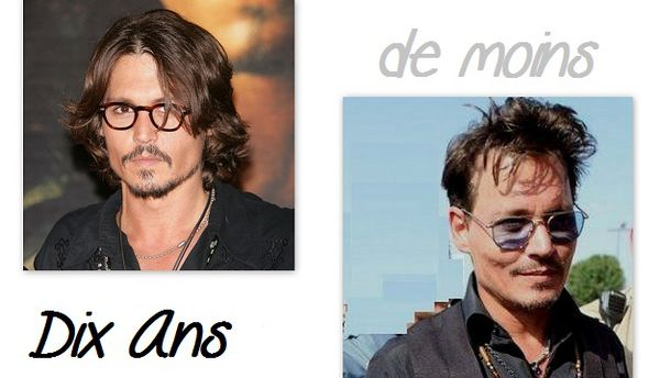 Johnny Depp-La Metamorphose