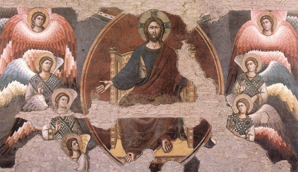 The Last Judgement (detail) by CAVALLINI, Pietro