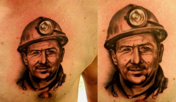 tattoo portrait alex photo