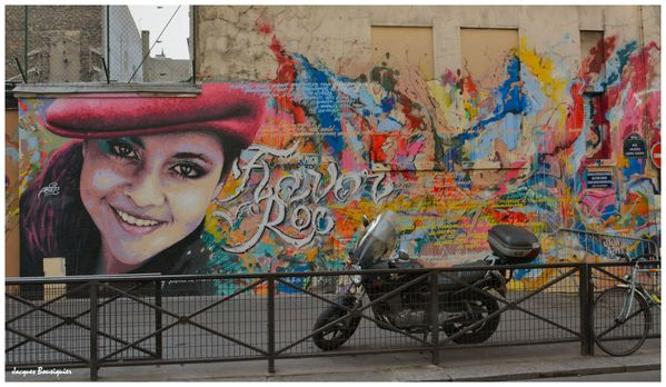 Street Art Flavor Roc ARERAM Paris 10 Rue Jacques Louvel-Te
