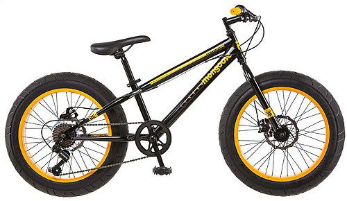 walmart selling mongoose massif 20 kid s fat bike vtt a 2. Black Bedroom Furniture Sets. Home Design Ideas