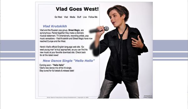 Site officiel Vlad