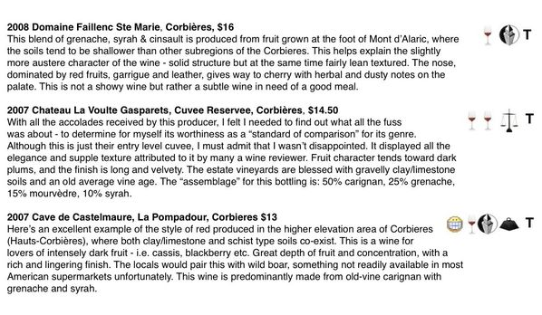 "Preview of ""Feature Wine Reviews""2"