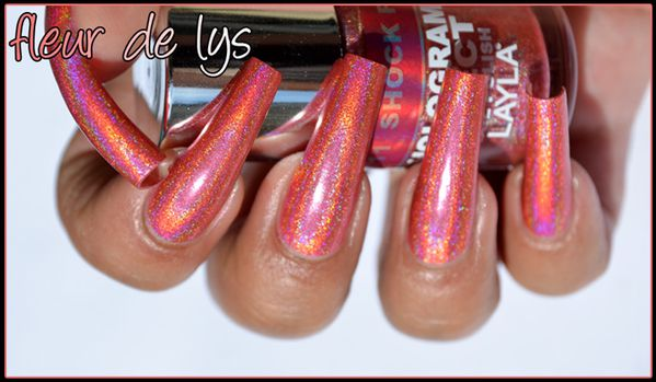 LAYLA Hologram Effect collection swatches