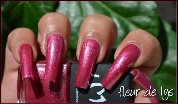 LM Cosmetic Octobre rose swatch