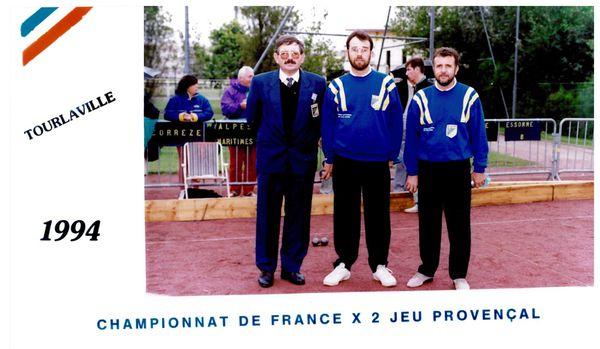 1994 Chpt de France JP 2X2