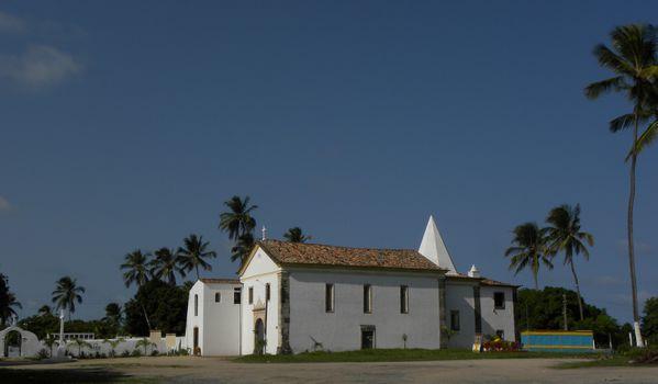 Bresil Rte JacSalv Porto Suape Nazaré Eglise1