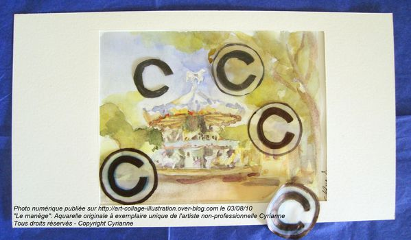 copyright-illustration-aquarelle-manege