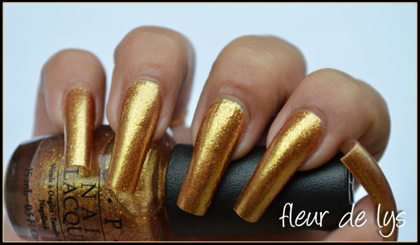 Vernis OPI Or Skyfall collection