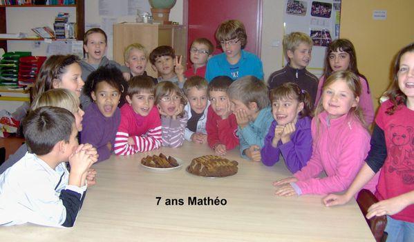 7 ans Mathéo
