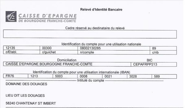 compte iban caisse epargne