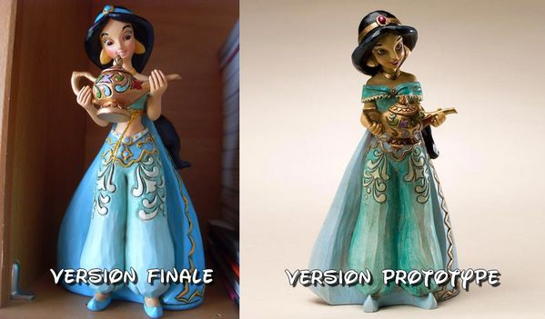 Disney Traditions - Différences Jasmine Sonata face