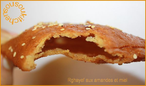 Rghayef aux amandes et miel 138