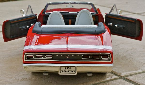 DODGE CORONET CABRIOLET ROUGE YATMING07