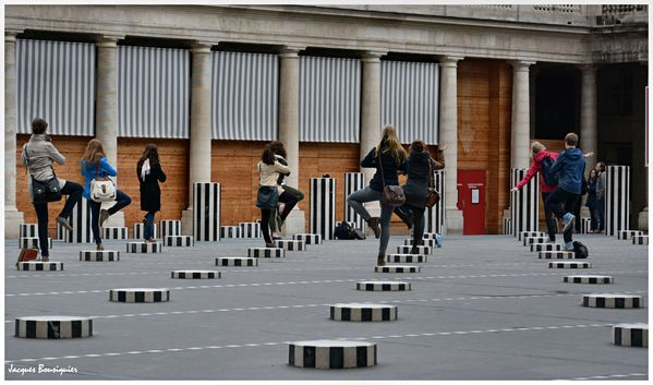 Paris Palais Royal photo groupe 3