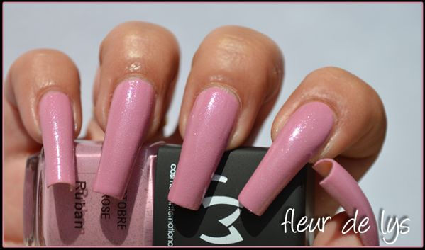 Vernis ongles rose LM Cosmetic