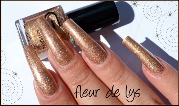 Glitter Gal Bronze sparkle