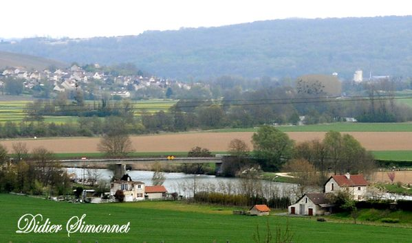 Vallée de la Marne. Chaulchery ( Aisne ). Photo D.Simonnet