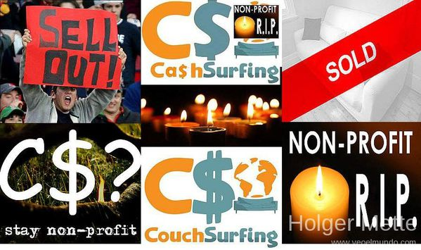 couchsurfing sold out