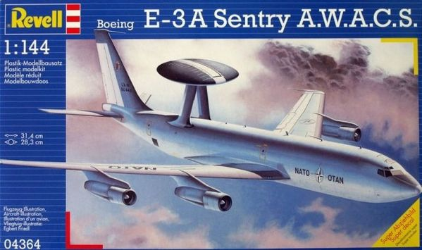 awacs REVELL-1-144-BOEING-E-3-A-SENTRY-A-W-A-C-S--O4364--DI