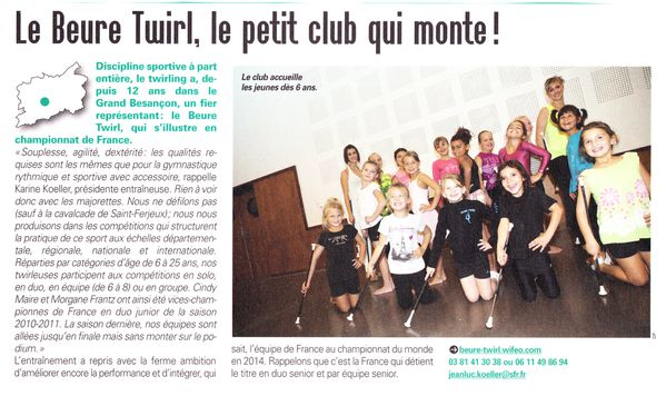 TWIRLING article GB
