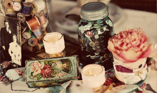 mariage vintage romanesque