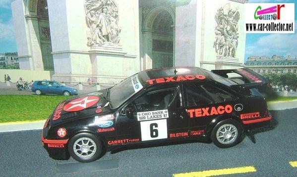 ford sierra cossworth rally rac texaco