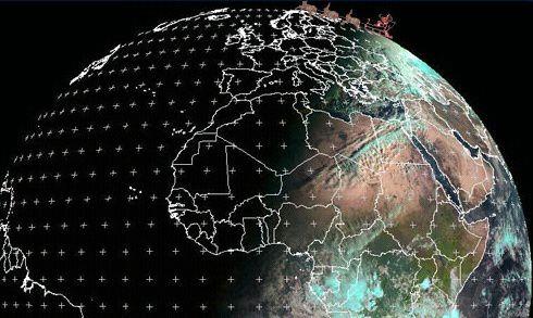 Eumetsat - Noel - Sol Invictus - 25-12-2011