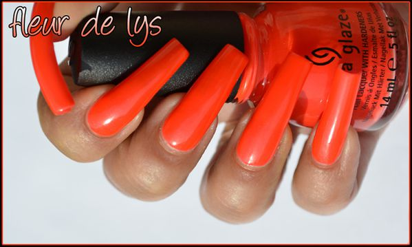 China Glaze Neons Collection (2012) swatches