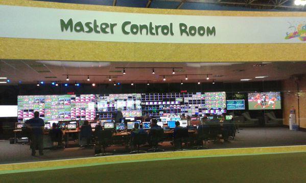 Brasil 2014 - FIFA World Cup - HBS -IBC - Master control ro