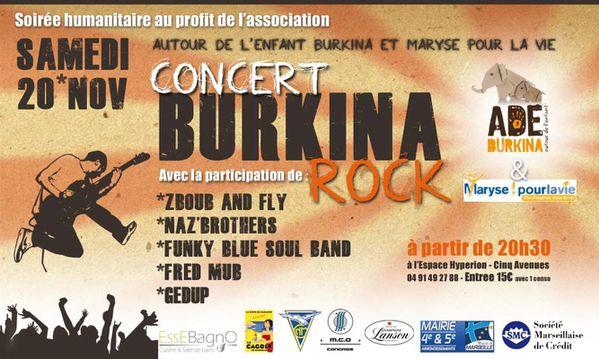 Concert Burkina Rock