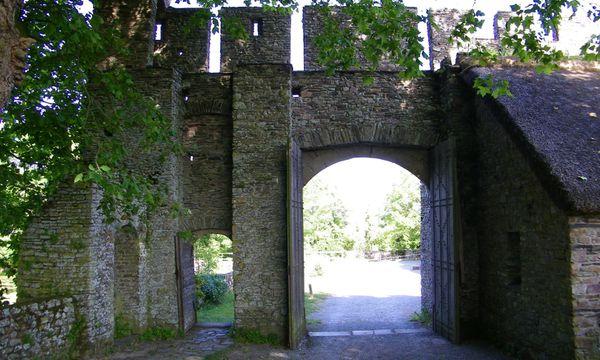 176 Cinquème porte, Château fort de Pirou
