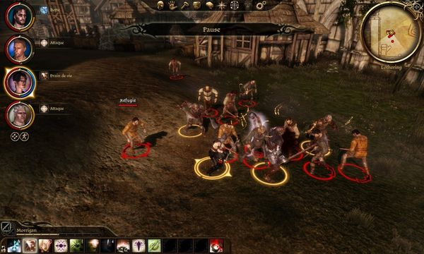 Dragon age origins sur PERFORMANCE PC