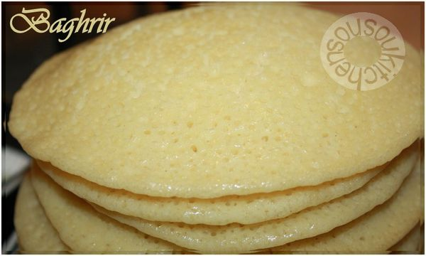 Recette de Baghrir (3) - Crepes 1000 trous 