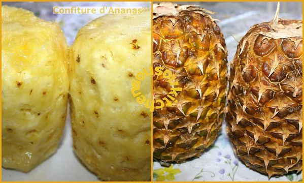 Confiture d'Ananas