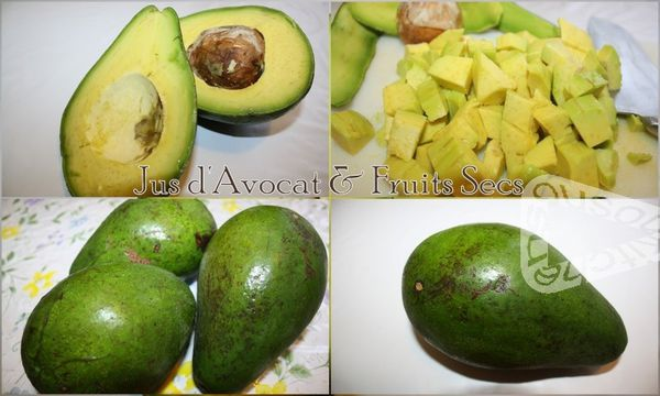 Jus d'Avocat &amp; Fruits Secs (6)