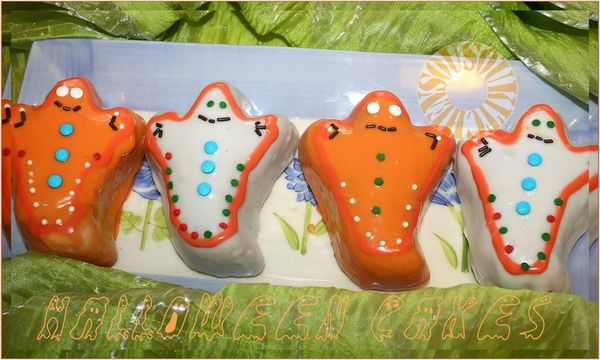 Petits gateaux de Halloween