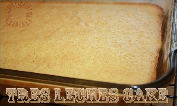Gateau Tres Leches - Gâteau aux trois laits