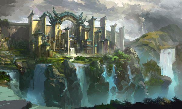 water city by xiaoxinart-d5jhnzj