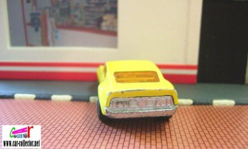 boss mustang yellow superfast matchbox (2)