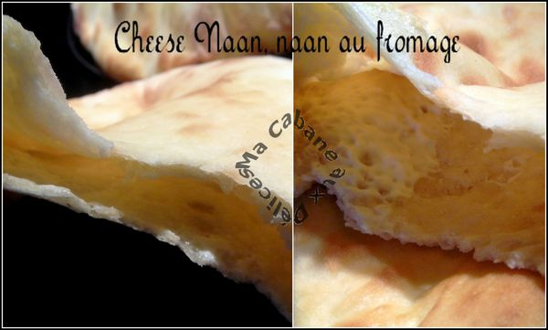 cheese naan montage