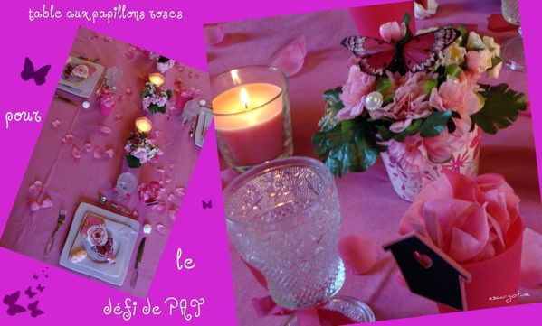 collage table rose 11