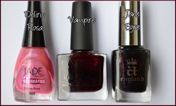 Picture Polish & A-England Gothic beauties