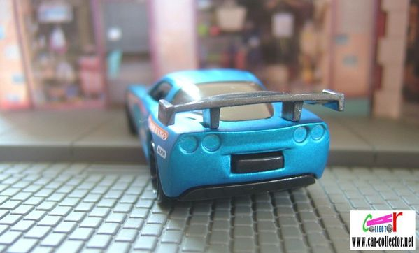chevrolet corvette c6r hot wheels racing 2009.071