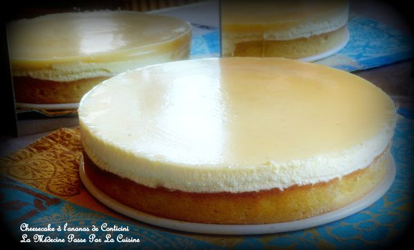 cheesecake ananas conticini