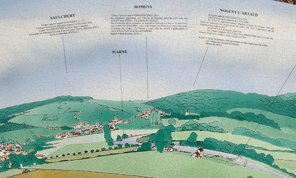 CHARLY-SUR-MARNE ( Aisne ). Table d'orientation...-copie-3