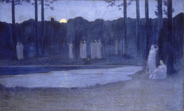 alphonse Osbert nuit