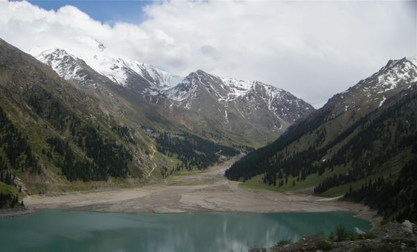 Tien Shan Big Almaty lake