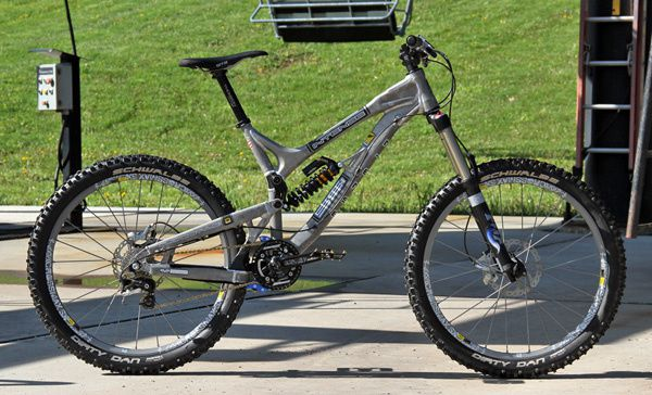 2010 intense slopestyle 2 bikes